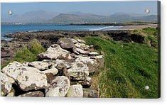 Acrylic Print featuring the photograph Winestrand by Barbara Walsh