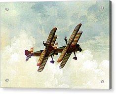 Wing Walkers Acrylic Print by Jacqui Kilcoyne