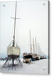 Winter Berth Acrylic Print