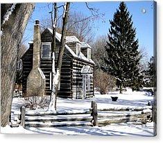 Winter Cabin 1 Acrylic Print