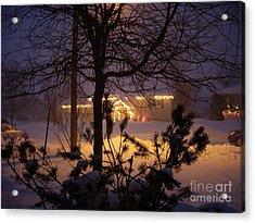 Winter Charm Acrylic Print