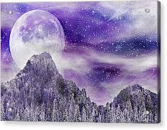 Winter Dreamscape Acrylic Print by Anthony Citro
