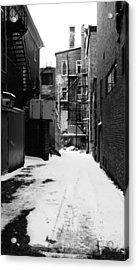 Winter Escape Acrylic Print by Jonathan Bateman
