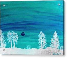 Winter Glow Acrylic Print by Jeannie Atwater Jordan Allen