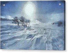 Winter Acrylic Print by Gun Legler