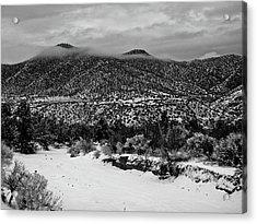 Winter Hills Acrylic Print