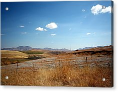 Winter Landscape In South Africa Acrylic Print