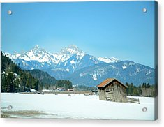 Winter Shed Acrylic Print