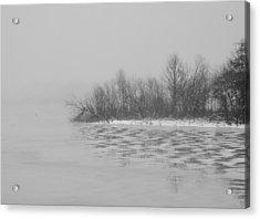 Winter Shore Acrylic Print by Odd Jeppesen