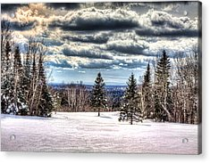 Winter Time Acrylic Print by Gary Smith