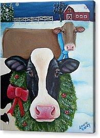 Winter Wonderland Acrylic Print by Laura Carey