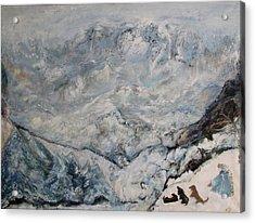 Winterlude Acrylic Print by Susan Hanlon
