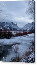 Acrylic Print featuring the photograph Winters Day by Atom Crawford