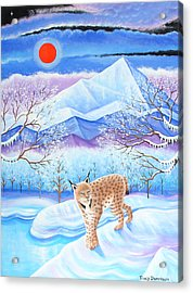 Winter's Eve Acrylic Print by Tracy Dennison