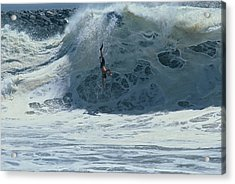 Wipe Out At Wedge Acrylic Print