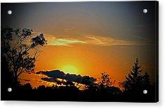 Wisconsin Sunset Acrylic Print