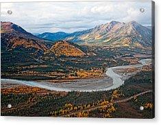 Acrylic Print featuring the photograph Wiseman Alaska by Gary Rose