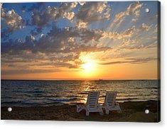 Wish You Were Here - Cyprus Acrylic Print