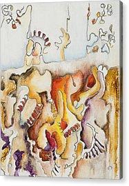 Wistful Acrylic Print by Vianne Korhorn