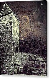 Witch Tower Acrylic Print by Jutta Maria Pusl