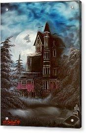 Witches Hollow 2011 Acrylic Print by Shawna Burkhart