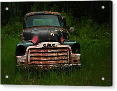 With Both Eyes Poked Out Acrylic Print by Jeff Swan