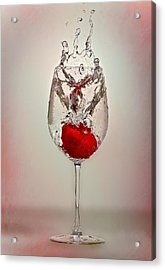 With Love Acrylic Print by Anna Rumiantseva