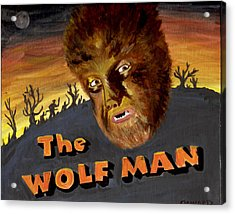 Wolf Bane Baby Acrylic Print