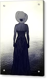 Woman At The Shore Acrylic Print by Joana Kruse