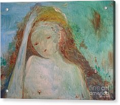 Woman Of Sorrows Acrylic Print