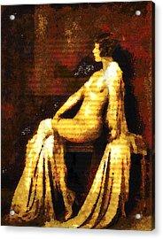 Woman Of The Night Acrylic Print