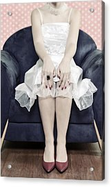 Woman On Chair Acrylic Print by Joana Kruse