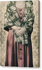 Woman With Shawl Acrylic Print by Joana Kruse