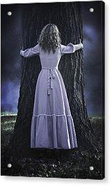 Woman With Trunk Acrylic Print by Joana Kruse