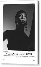 Women Of A New Tribe - Moon Kissed Acrylic Print by Jerry Taliaferro