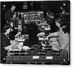 Women Take Part In World War II Acrylic Print by Everett