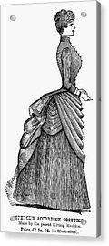 Womens Fashion, 1884 Acrylic Print by Granger