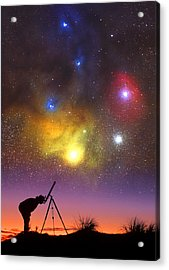 Wonder Of The Universe Acrylic Print