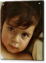 Wondering Eyes Acrylic Print by Gun Legler