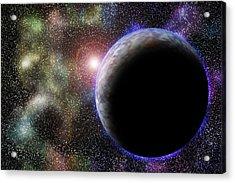 Wonders Of Space Acrylic Print by Barry Jones