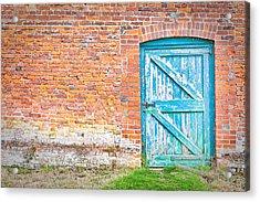 Wonky Door Acrylic Print by Tom Gowanlock