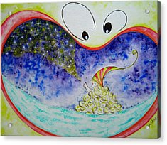 Woo Acrylic Print by Asida Cheng
