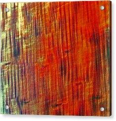 Wood Tones Acrylic Print by James Mancini Heath