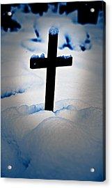 Wooden Cross Acrylic Print