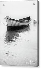 Wooden Row Acrylic Print