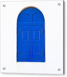Wooden Window Acrylic Print by Joana Kruse