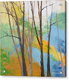 Woodland #2 Acrylic Print by Melody Cleary