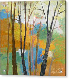 Woodland #3 Acrylic Print by Melody Cleary