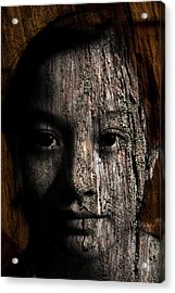 Woodland Spirit Acrylic Print by Christopher Gaston