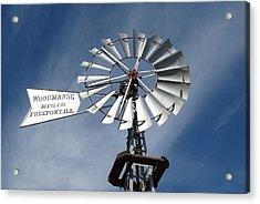 Woodmanse Windmill Acrylic Print